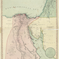 Egypt with part of Arabia and Palestine