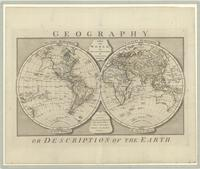 Geography or description of the earth : a map of the world with the latest discoveries