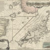Carte de la partie de l'ocean vers l'equateur entre les cotes d'Afrique et d'Amerique