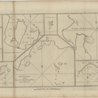 Cape Providence with the Bay and Anchoring Places to the N.N.E. of it [copy 1]