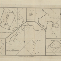 Cape Providence with the Bay and Anchoring Places to the N.N.E. of it [copy 2]