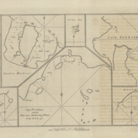 Cape Providence with the Bay and Anchoring Places to the N.N.E. of it [copy 3]