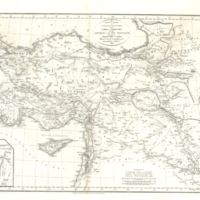 The route in detail of Cyrus the Younger from Sardis to Babylonia
