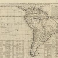 Nouvelle carte de geographie de la partie meridionale de l'Amerique suivant les plus nouvelles observations