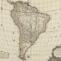 Amérique Méridionale, dressée, sur les mémoires les plus récents et assujétie aux observations astronomique