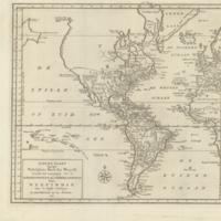 Nieuwe kaart van het westelykste deel der weereld, dienende tot aanwyzing van de scheepstogten der Nederlanderen naar Westindie