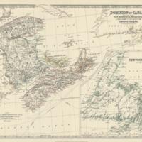 Dominion of Canada (eastern sheet)