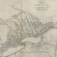 Ontario or province of Upper Canada, describing all the new settlements, townships, &c.