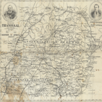 Map of the Transvaal