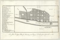 Sir John Evelyn's plan for rebuilding the City of London after the Great Fire in 1666