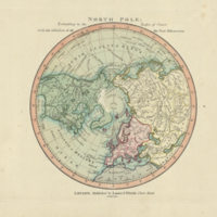 North Pole : extending to the Tropic of Cancer, with the addition of all the new discoveries