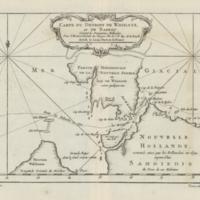 Carte du Détroit de Waeigats ou de Nassau