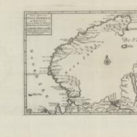 Nieuwe kaart van Nova Zembla en't Waygat nevens de strekking der kusten van Moscovie en Tatariё