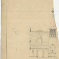 Design for a gate lodge, Burlington Heights Cemetery, Hamilton, [sheet no. 6]