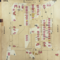 [Insurance plan of the city of Hamilton, Ontario, Canada] : [sheet] 153