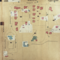 [Insurance plan of the city of Hamilton, Ontario, Canada] : [sheet] 155