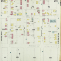 [Insurance plan of the city of Hamilton, Ontario, Canada] : [sheet] 216