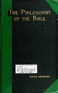 The  philosophy of the Bible
