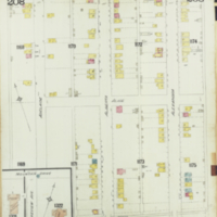 [Insurance plan of the city of Hamilton, Ontario, Canada] : [sheet] 208