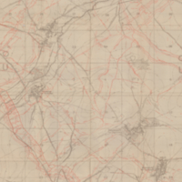 Third Army Weekly Trench Map (Sunday): Cherisy Parts of 51b.SW.2 and 4