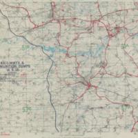 Situation Map 4A: Railways & Ammuniton Dumps 14-9-18