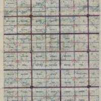 Index Diagram of Third Army Maps, Cambrai 1:100,000