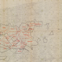 Army Area Map No. 6: Training Areas, September 1918
