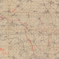 Skeleton Map of 4th Army Front [the Somme 62c]
