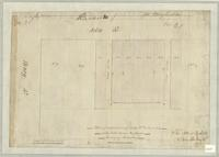 Plan of subdivision of lot nos. 11, 12, and 13 in the late James Hughson's Survey in Hamilton