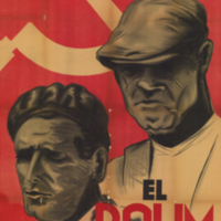 Partido Obrero de Unificación Marxista, poster, 1936