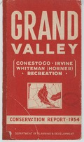 Grand Valley conservation report, 1954