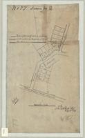Sketch of survey of lots in the Village of Ancaster the property of Mr MacCrimmon