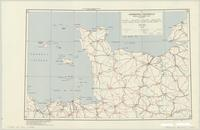 Normandy Peninsula : special strategic map