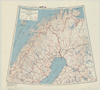 Sweden and Finland (North) : special strategic map