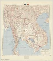 Indochina and Thailand : special strategic map
