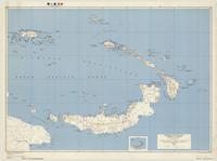 Bismarck Archipelago-Admiralty Islands : special strategic map