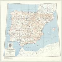 Spain and Portugal : special strategic map
