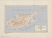 Cyprus : special strategic map