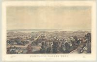 Hamilton, Canada West, from the mountain