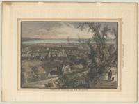 Hamilton and Burlington Bay, from the mountain