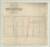 Plan of the Village of Inverness, being the subdivision of lot no.1 first concession, Flamboro East [south sheet]