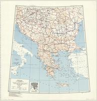 Balkans : special strategic map