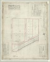 Plan of survey of park-lots laid out on lot no. 5 in the 1st and B.F. Cons. in the Township of Saltfleet