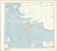 Dodecanese Islands : special strategic map