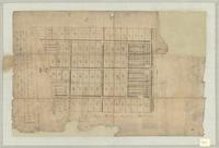 [Map of planned village at present-day Winona, Ontario]
