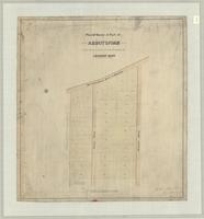 Plan of survey of part of Abbotsford
