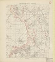 Map showing German trenches, from air photos up to 2nd February, 1916