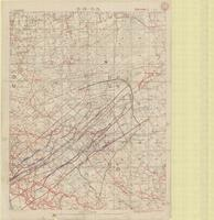 [Ypres, 3rd Battle of : trenches, roads and duckboard tracks]