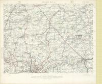 Situation map 3B, new series : [Hal, Nivelles, Charleroi, 10 November 1918]
