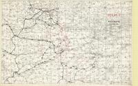[First] Army area : secret, railways, [August/September 1918]